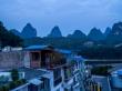 Cayendo la tarde en Yangshuo