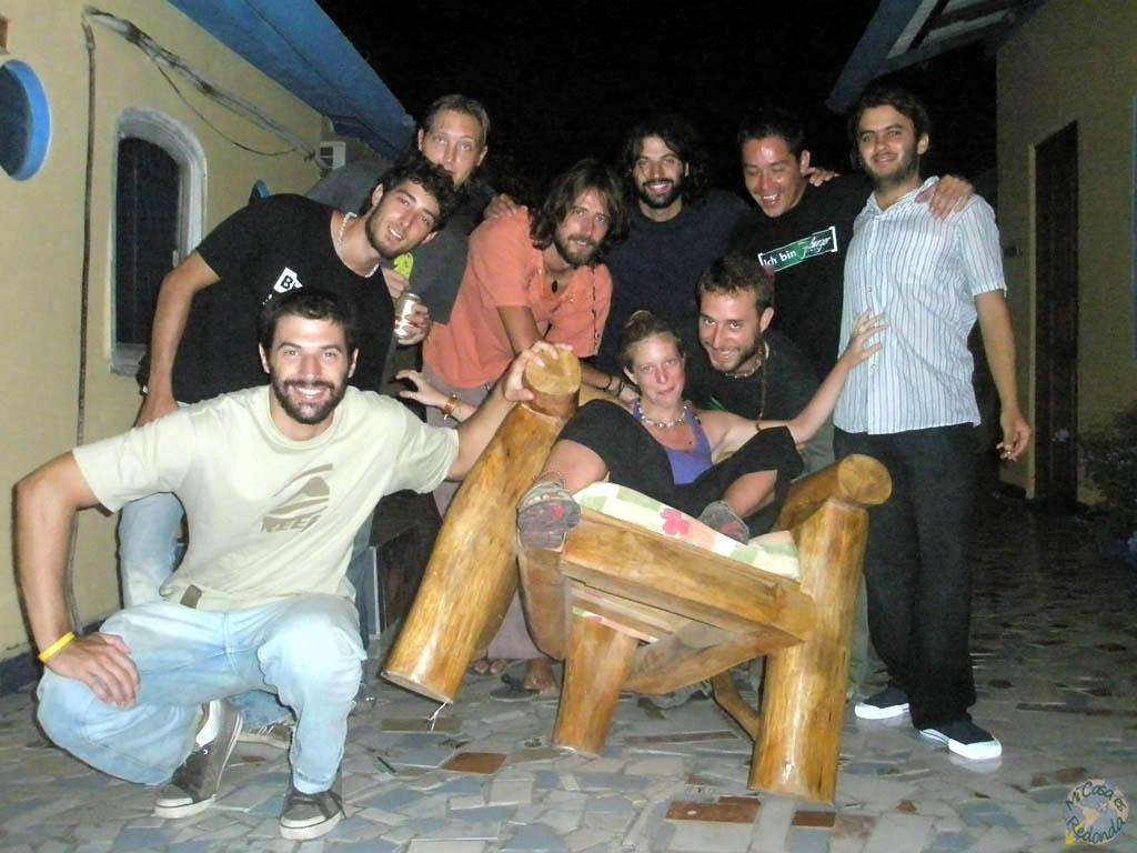 Hostel de Cartagena, vaya tropa