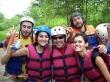 Haciendo rafting en San Gil