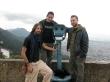 Con Andrés y Durán, en Bogotá