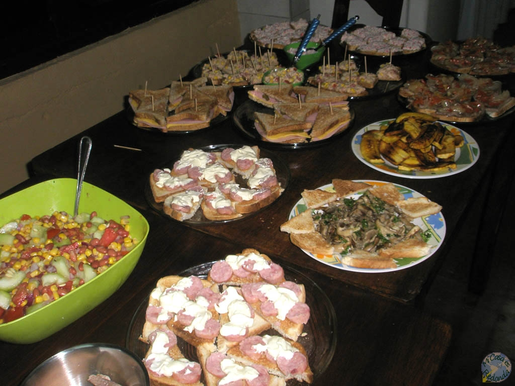 Cenas de calidad en el hostel!