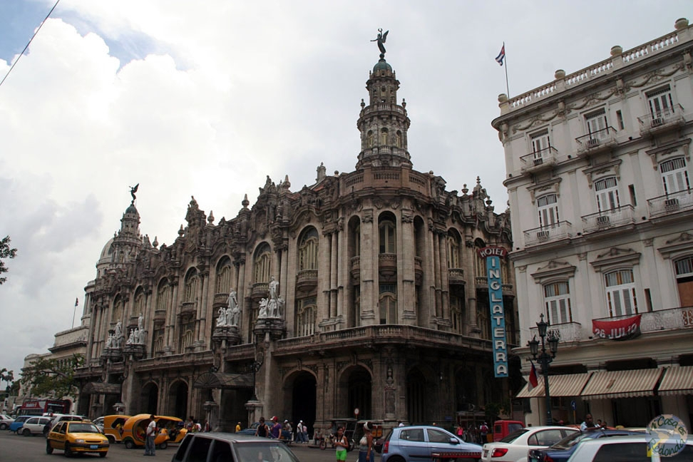 El teatro de la Habana