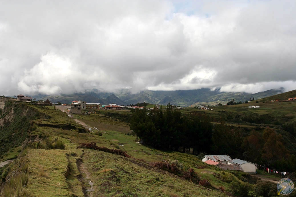 La campiña ecuatoriana