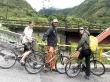 Ruta en bici por Baños, con Anna y Sven