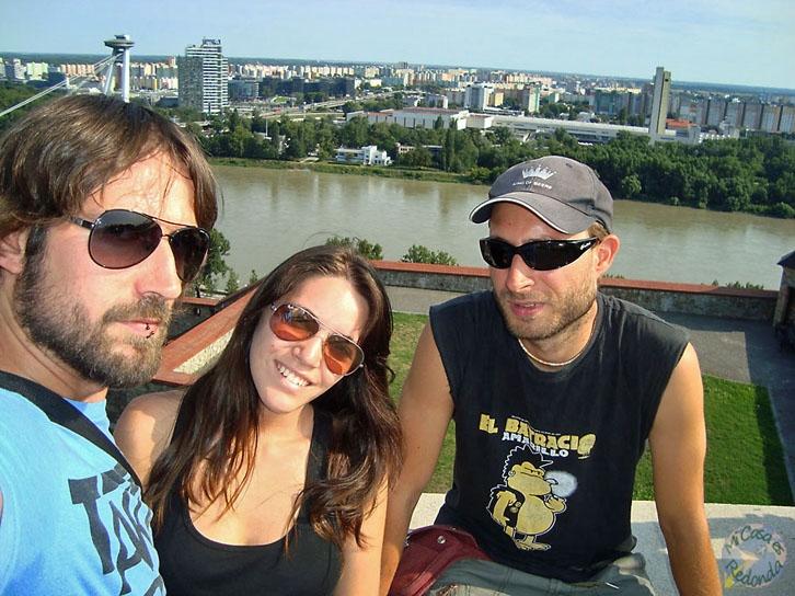 Con el Danubio detrás