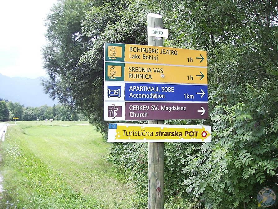 Camino a Bohinj