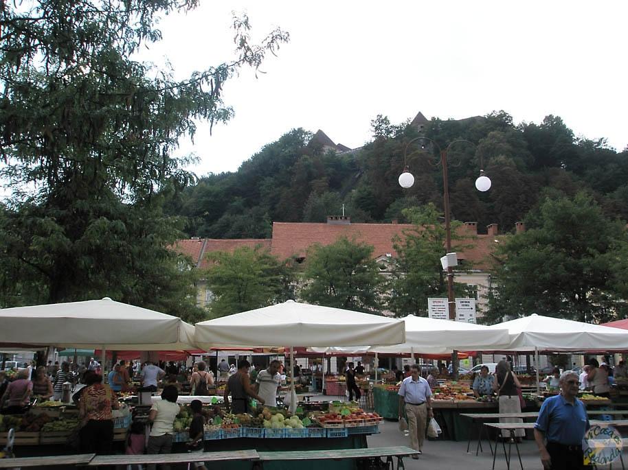 Mercadillo en Ljubljana