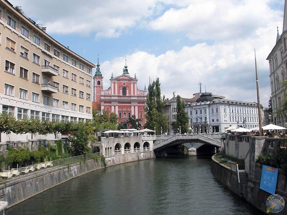 El río Ljubljanica