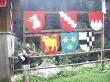 Banderas, colores y animales
