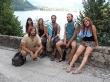 Equipo al completo en Bled