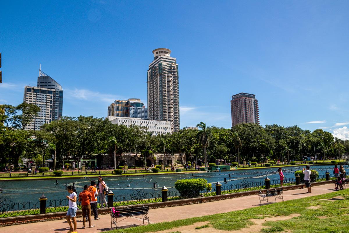 Zonas verdes de Manila