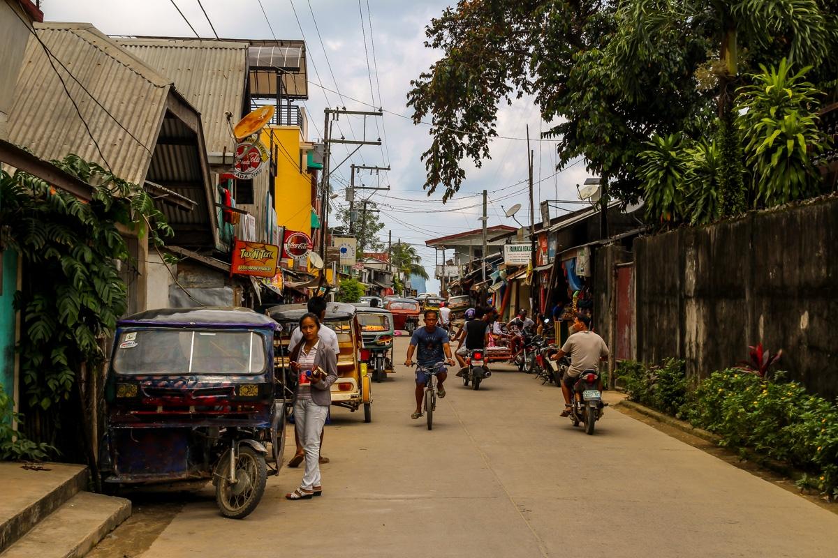 Calle Rizal, avenida de El Nido