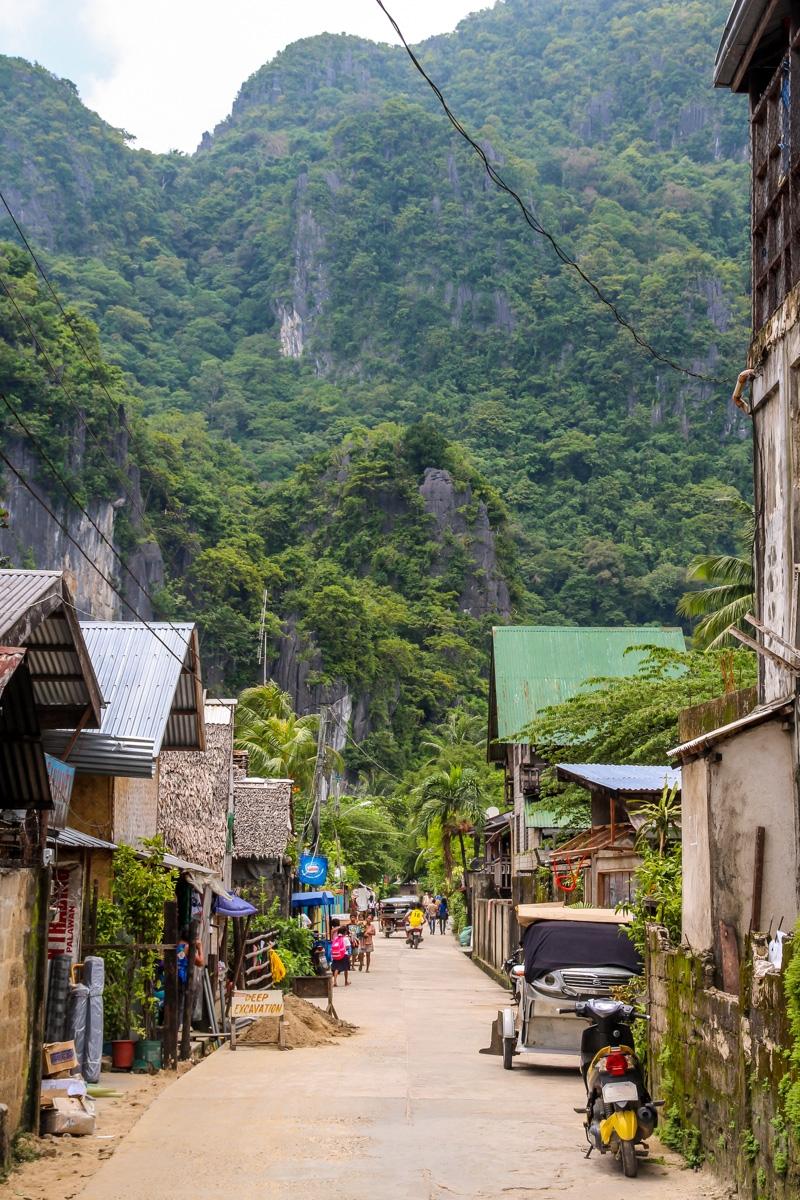 Calles de El Nido, Palawan
