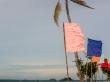 El viento azota Malapascua