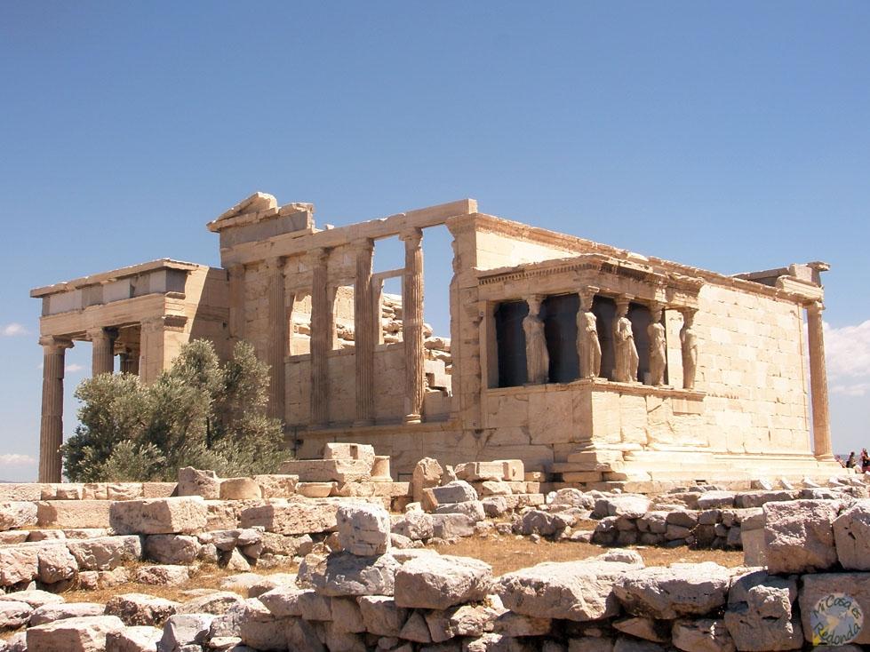 El Erecteion, Acrópolis
