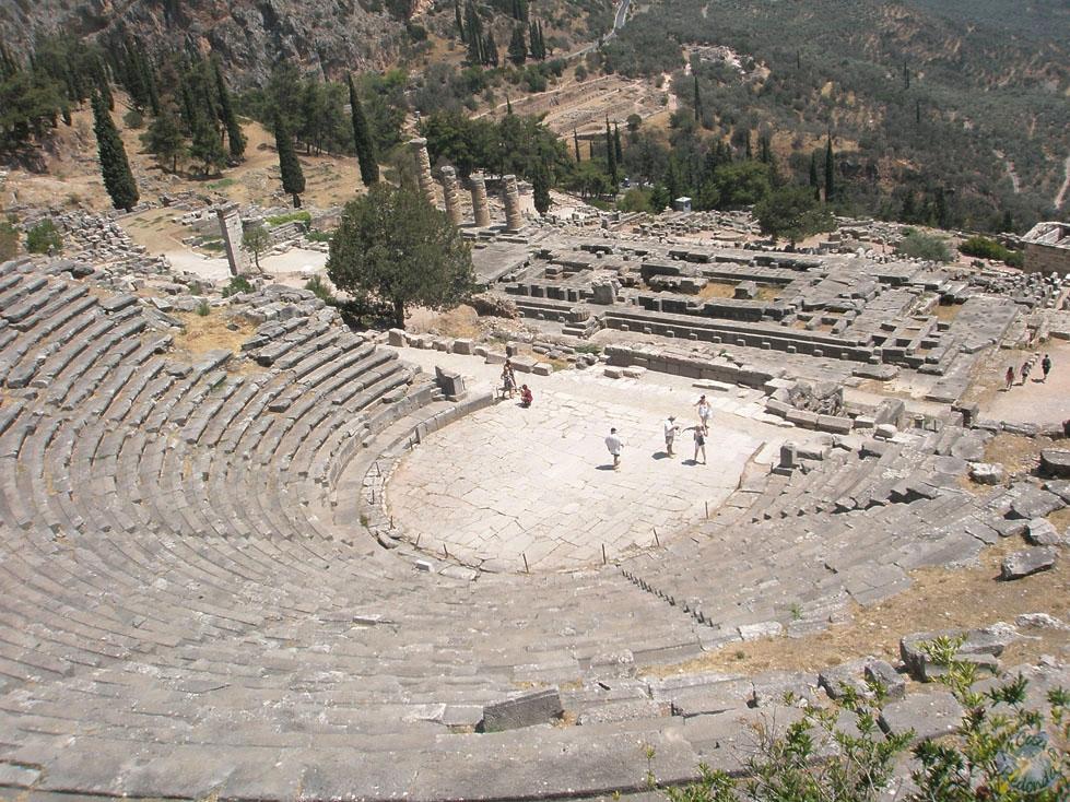 El teatro de Delfos