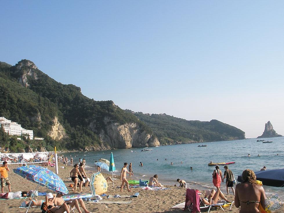 Otra playa de Corfú