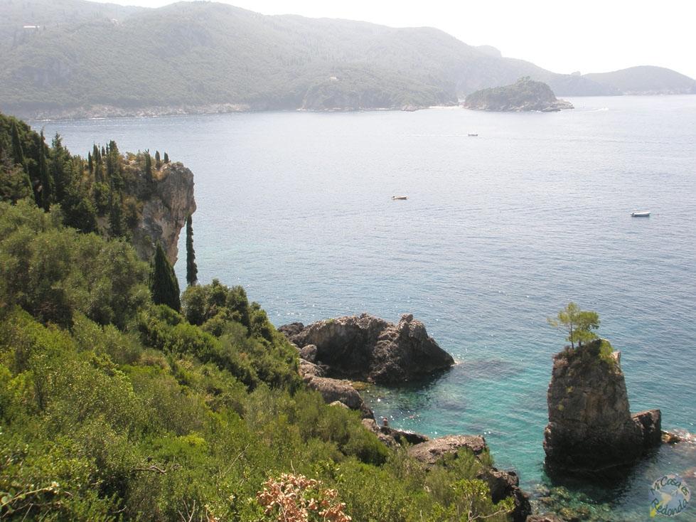 Acantilados y playas, Corfú