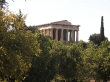El templo de Hefesto, Ágora