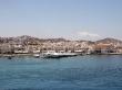 Llegando a Mykonos