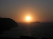 Puesta de sol sobre el Egeo, Santorini