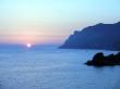 Atardecer desde Corfú, esta vez toca el mar Jónico