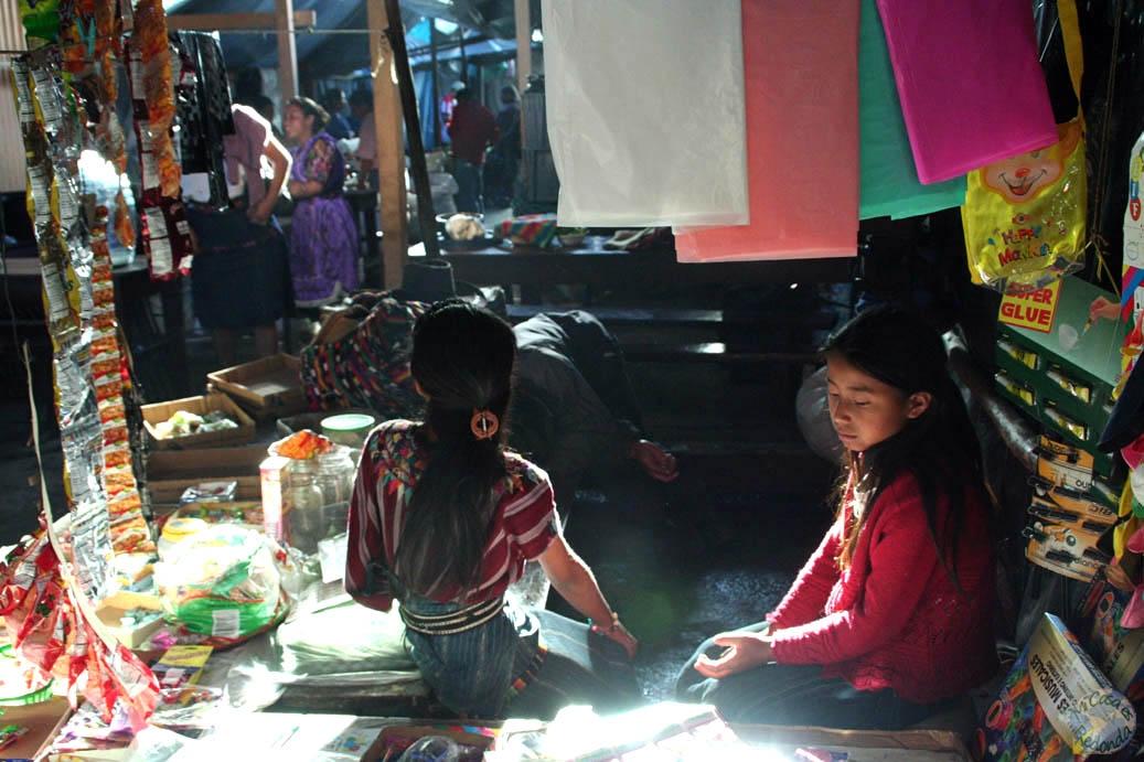 Jovenes guatemaltecas