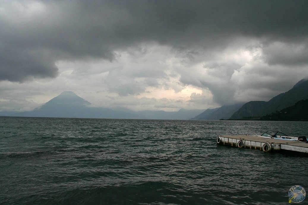 El lago Atitlán
