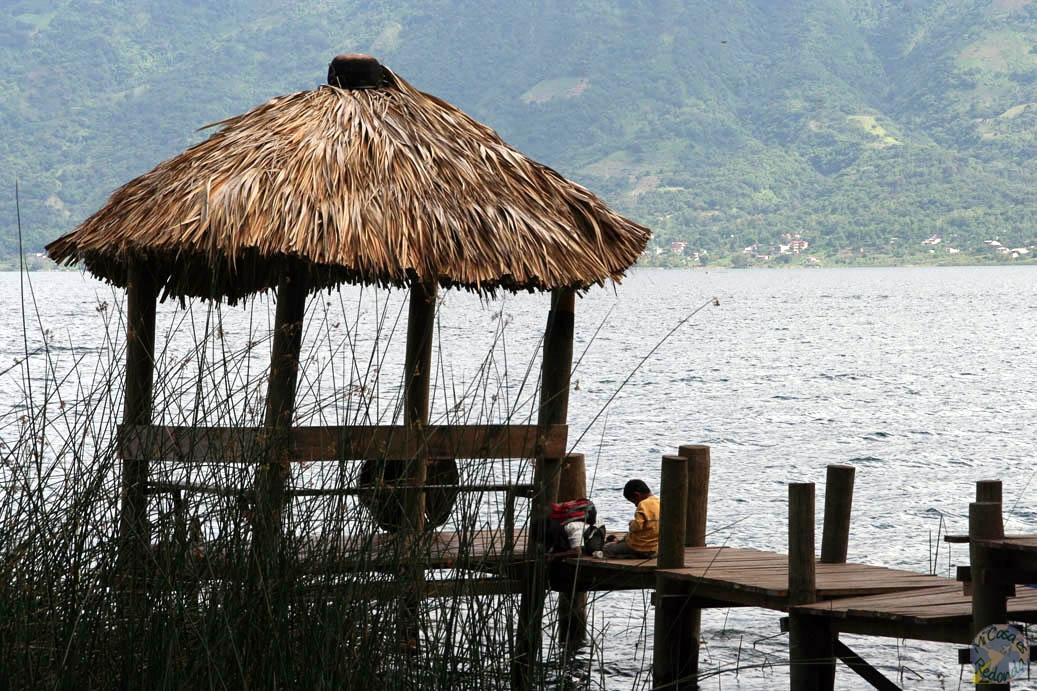 Embarcaderos en el lago