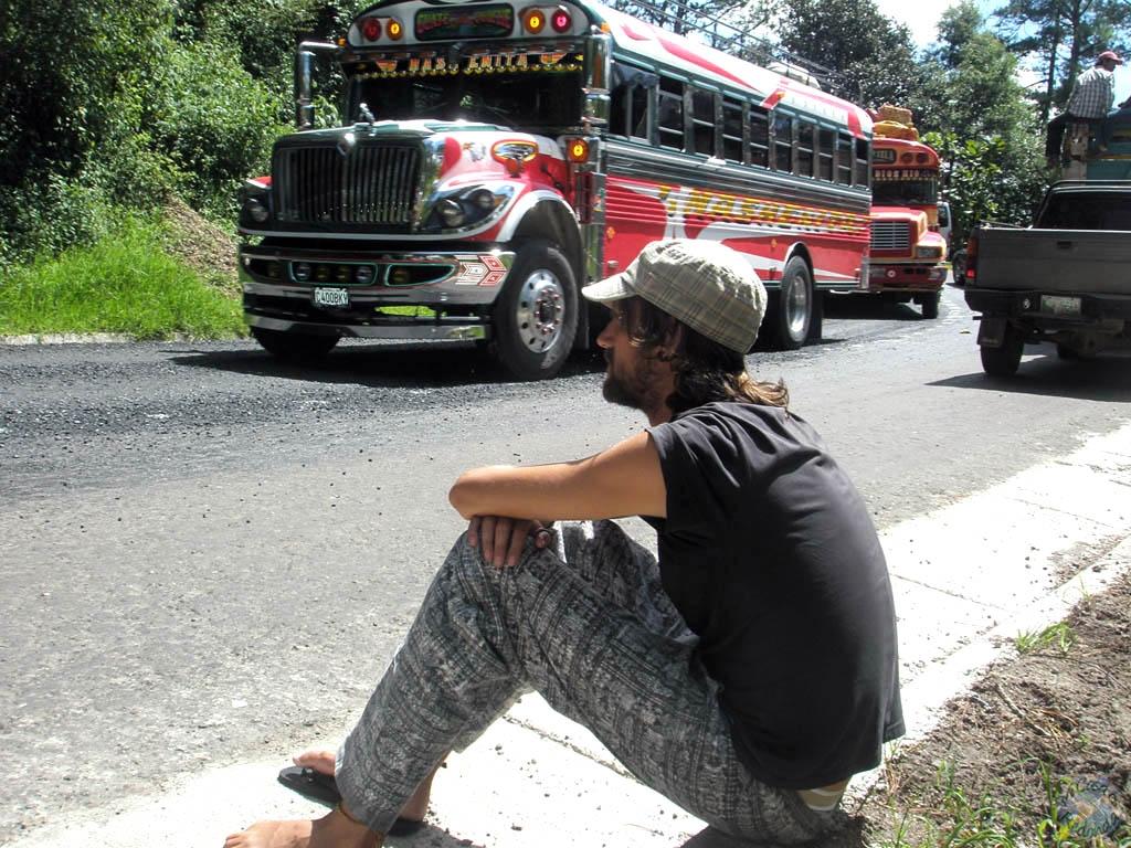 Nos quedamos tirados con el bus