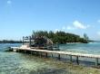 Nuestro embarcadero en Jewel Cay