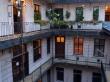 el patio de vecinos del Hostel Activity