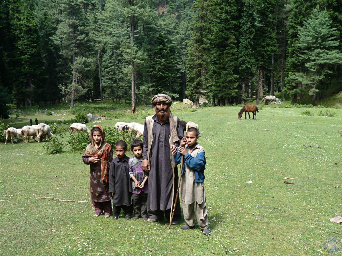 Gitanos en Cachemira