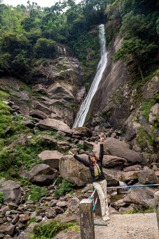 Recorriendo las cascadas de Sikkim