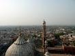 Vistas de Delhi desde Jama Masjid, la mezquita más grande de la India