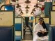 Los trenes indios en Kerala