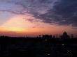 Anochecer en Agra
