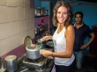 Cocinando comida india