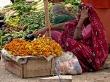 Señora de las flores