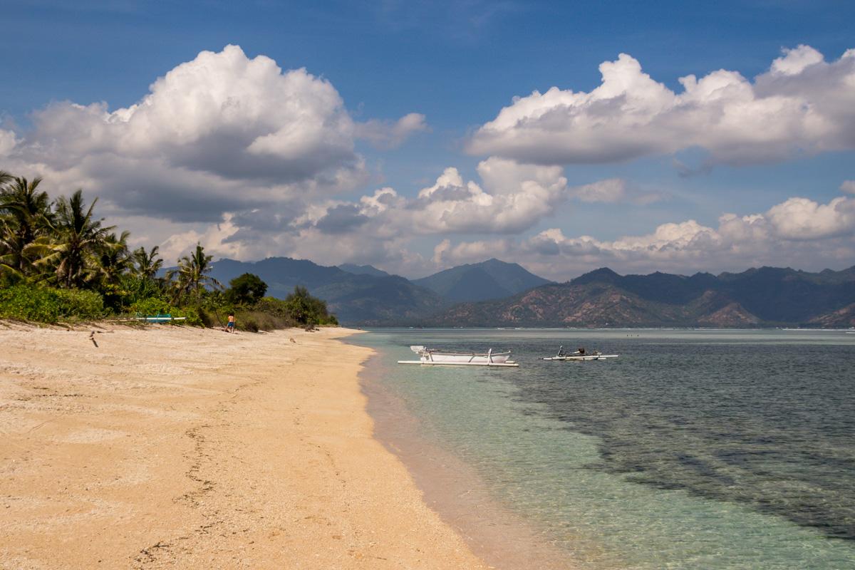 Playas y sol, Gili Air