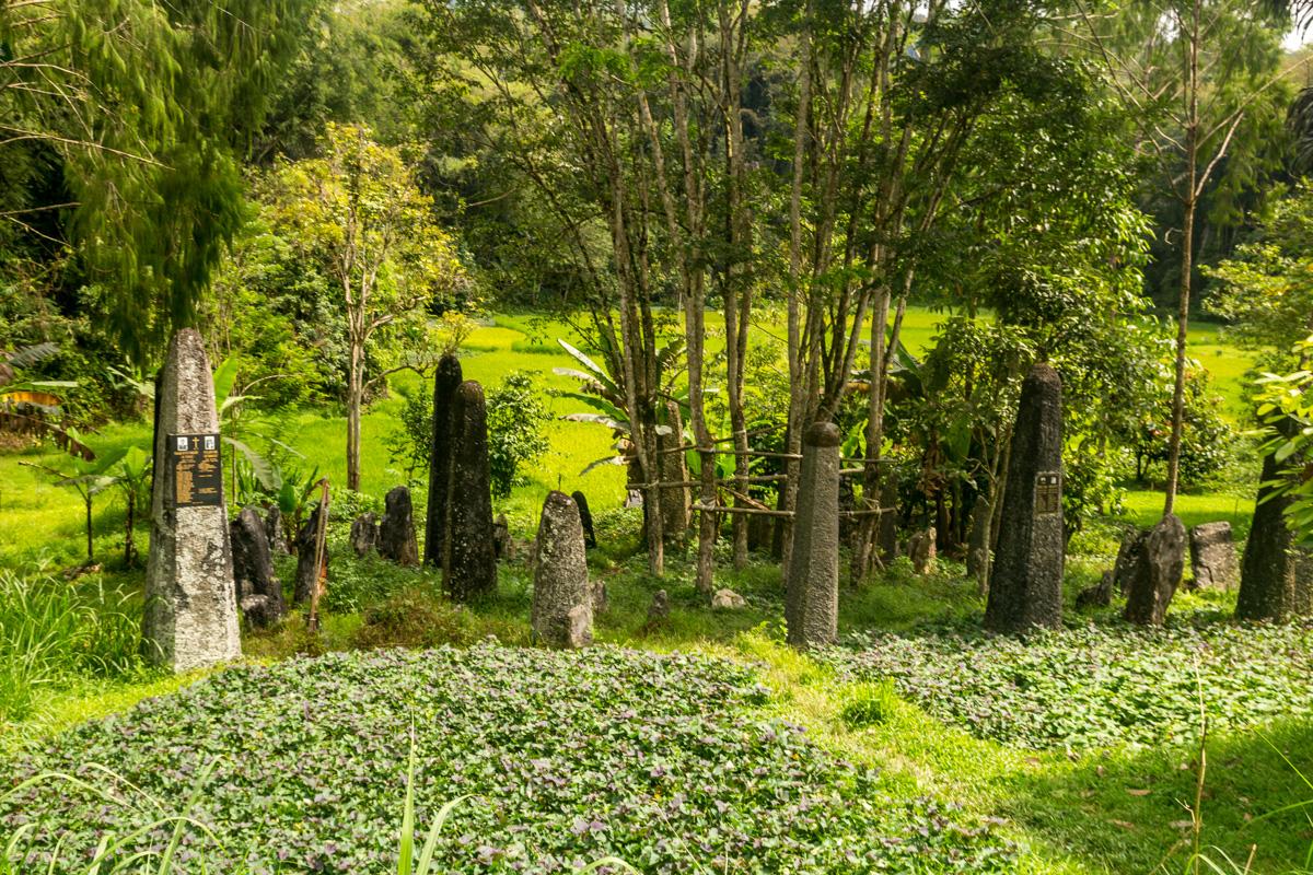 Megalitos en Tana Toraja