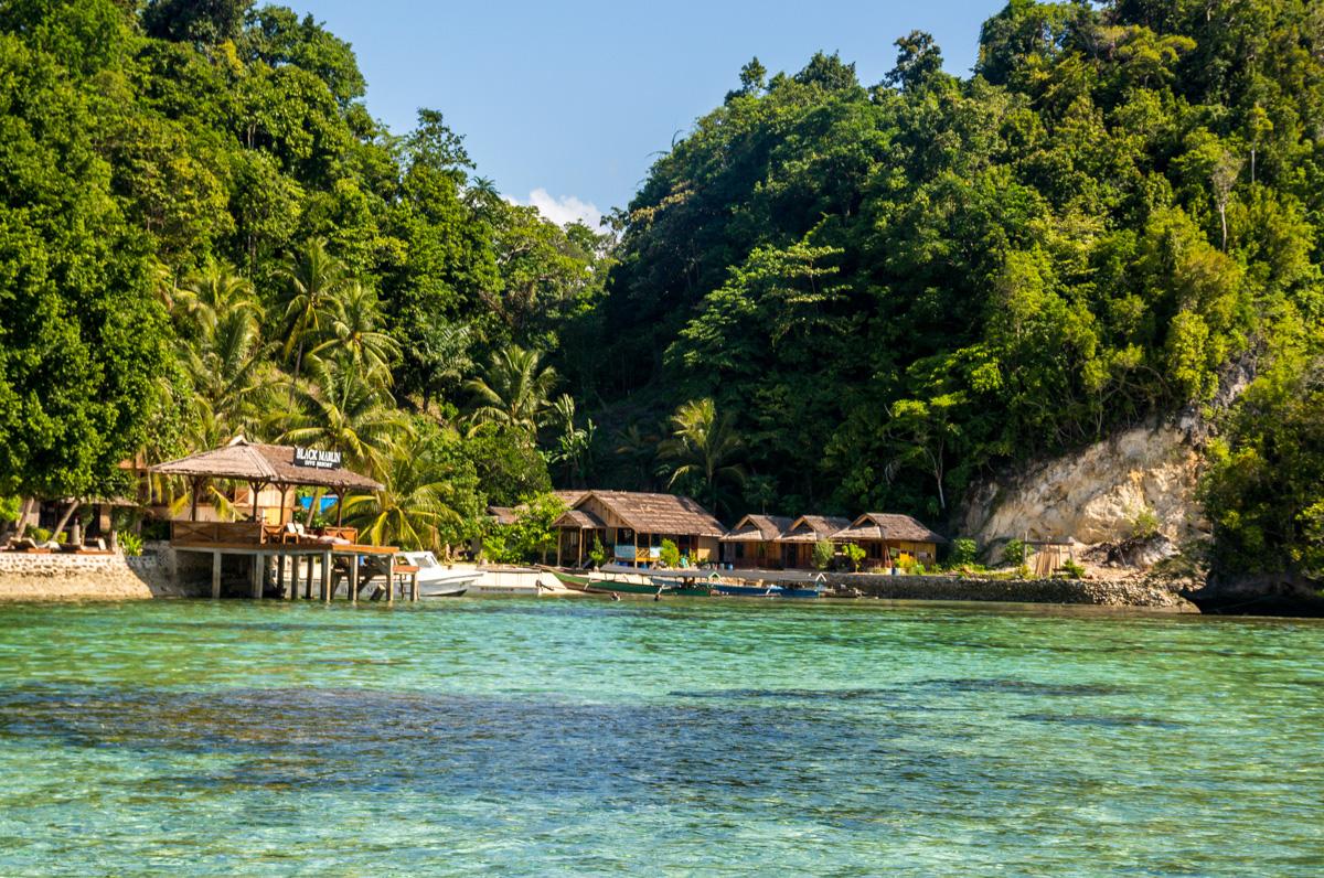 Nuestro rincón en Kadidiri, Islas Togean, Sulawesi