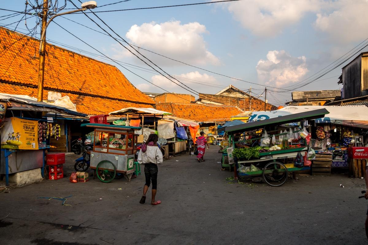 Mercado en Kota, Yakarta
