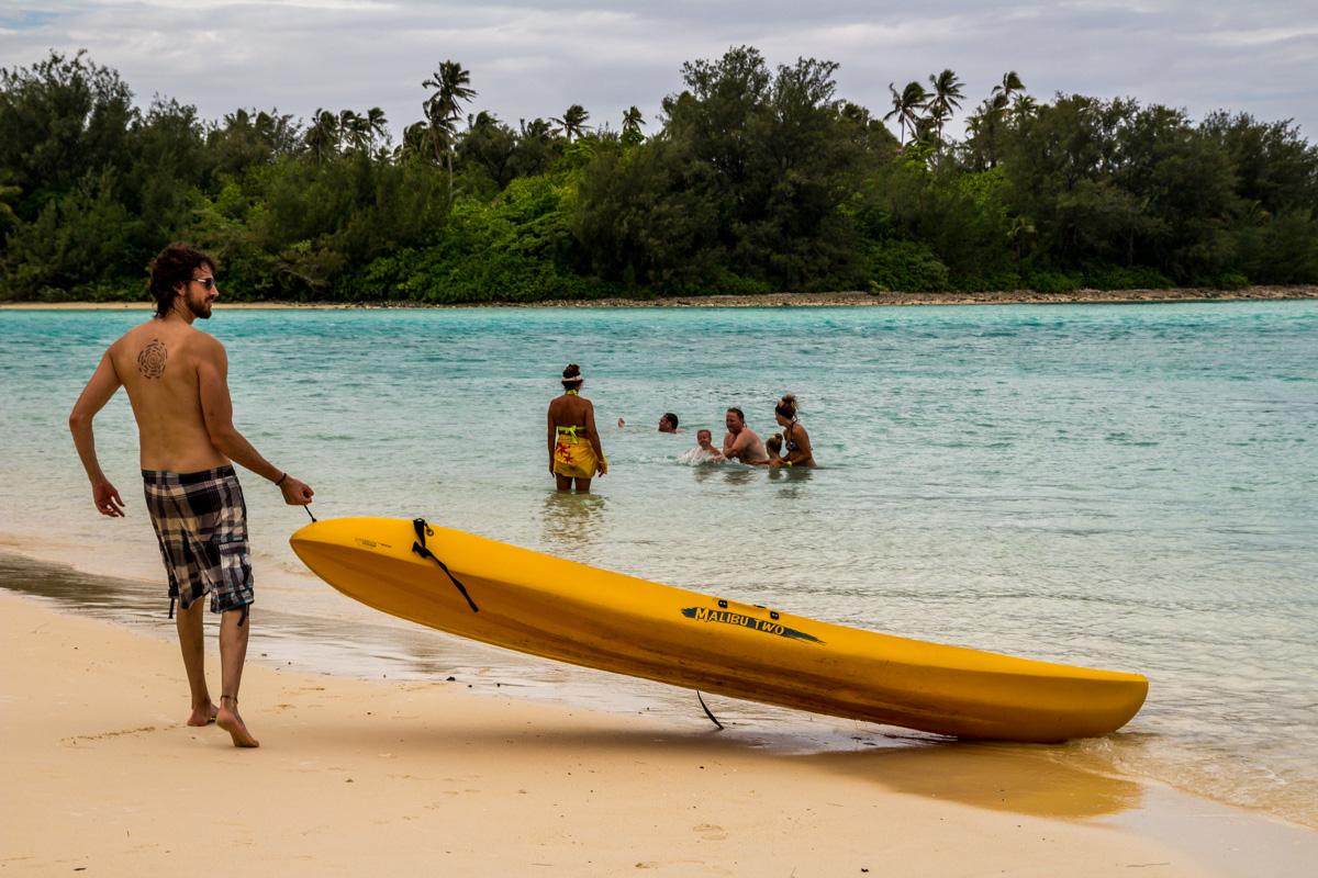 Kayaking! Islas Cook