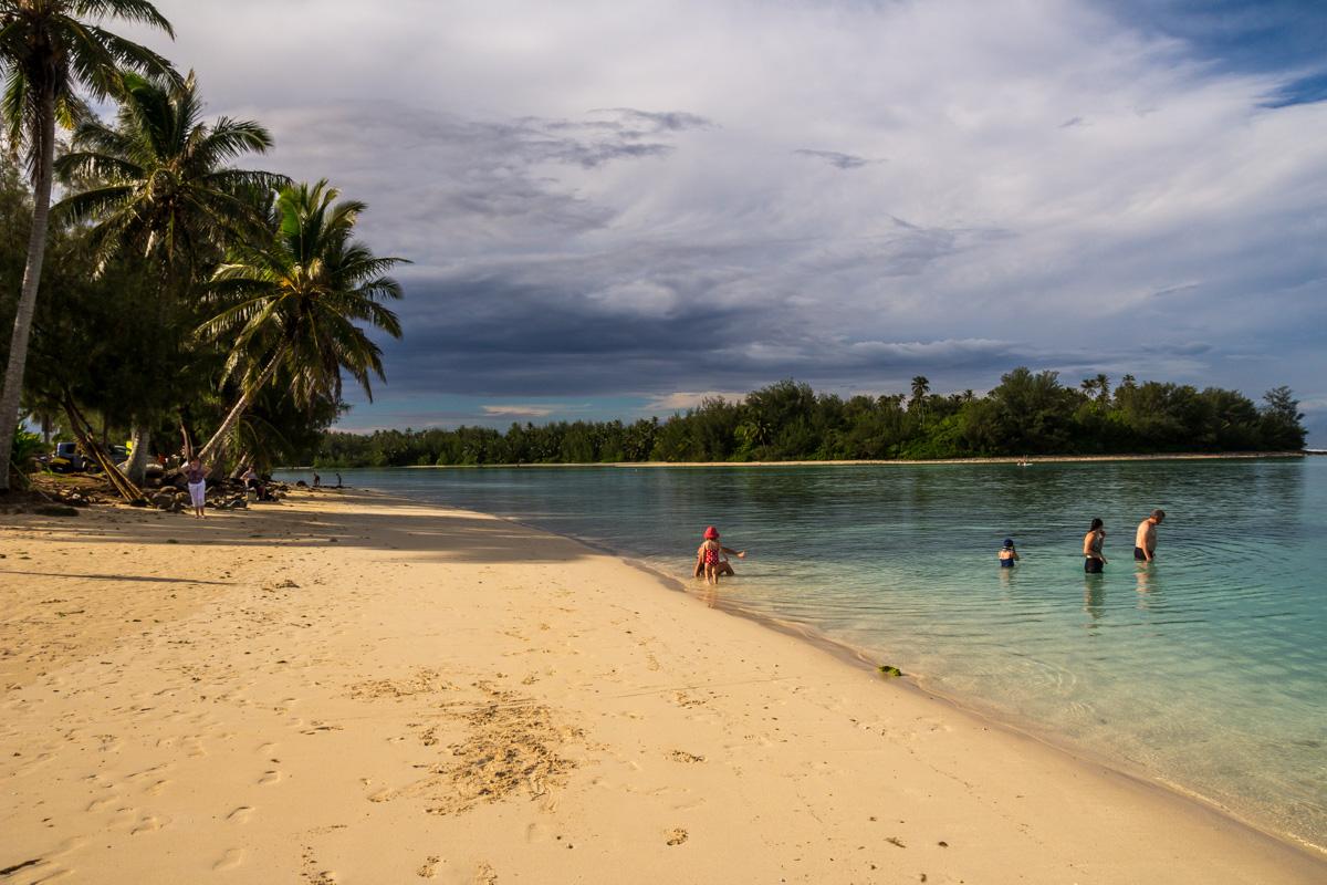 Escasez de turistas en las islas Cook