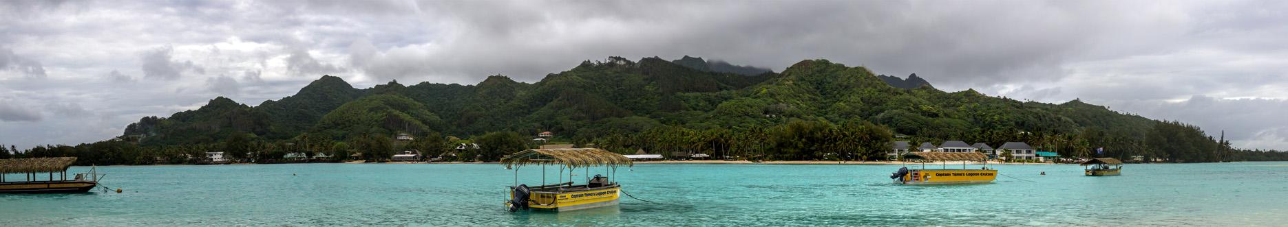 Panoramica Rarotonga, islas Cook