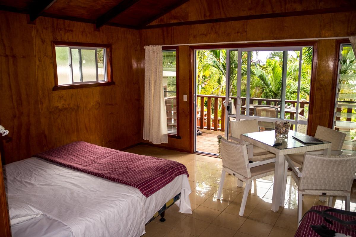 Nuestro Bungalow, Islas Cook