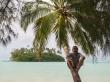 Buscando cocos, islas Cook