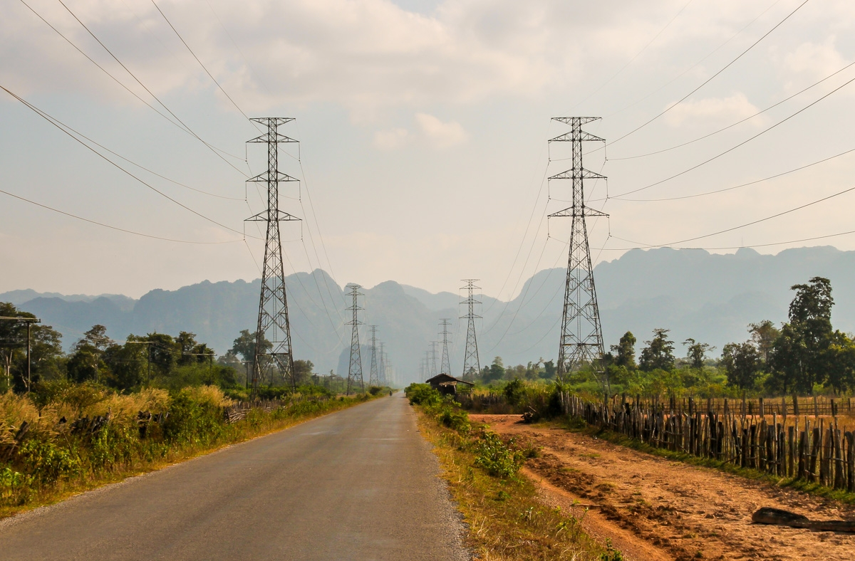 Torres de cables hasta el infinito, Thakhek Loop