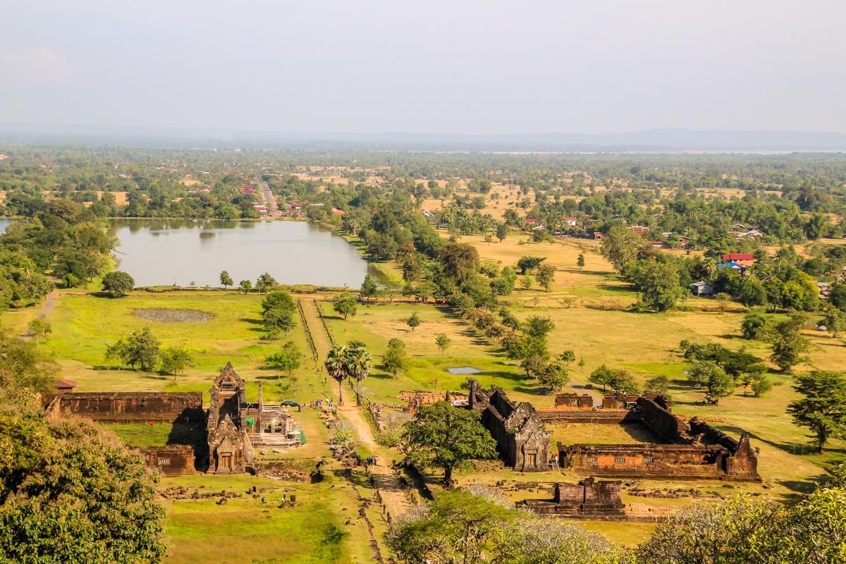 El complejo de Vat Phou, Champasak